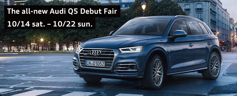 The New Audi Q5 Debut.